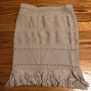 Dresses & Skirts - Grey knit skirt